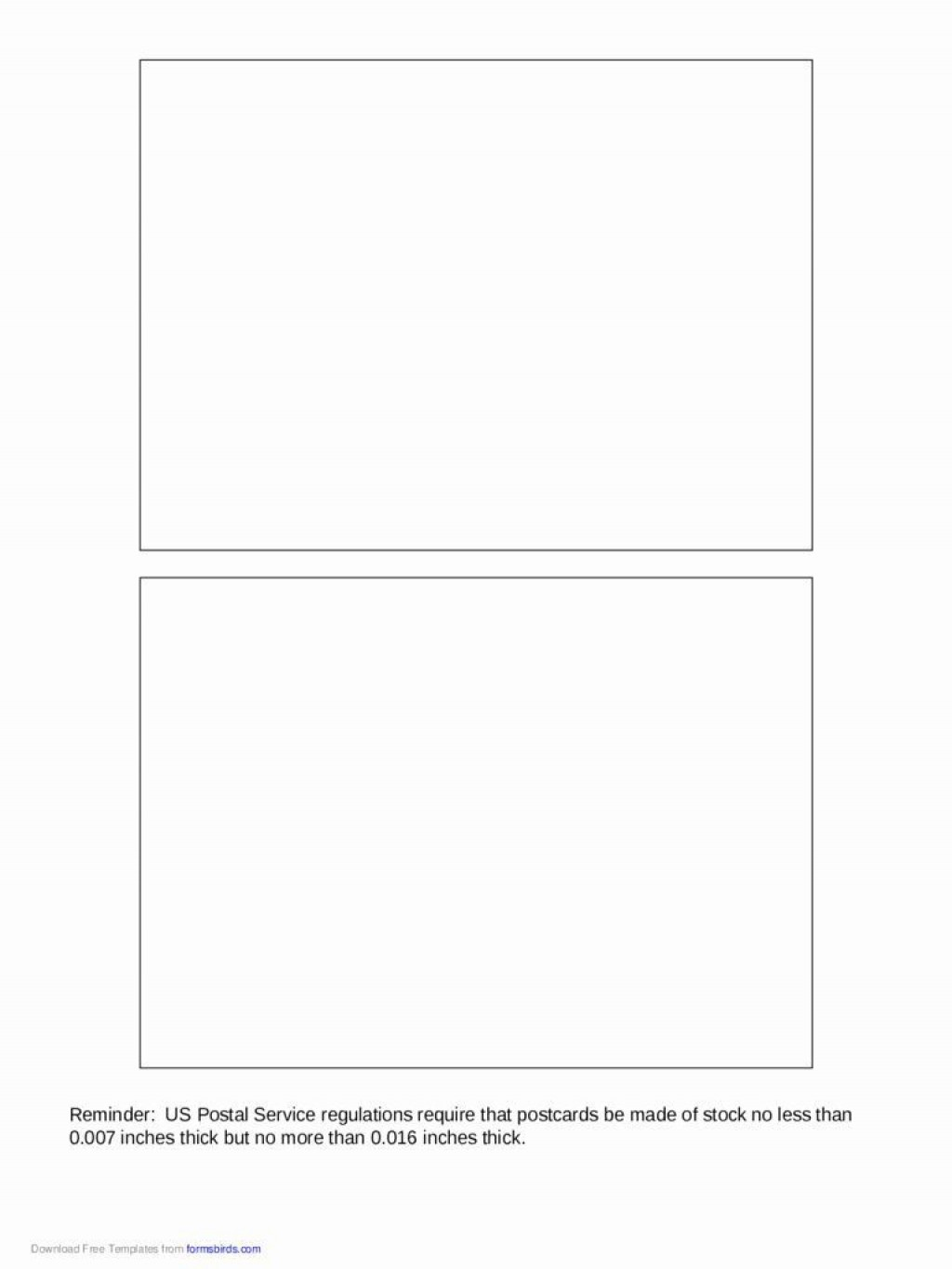 003 Fantastic 5 X 7 Postcard Template Microsoft Word Photo Large