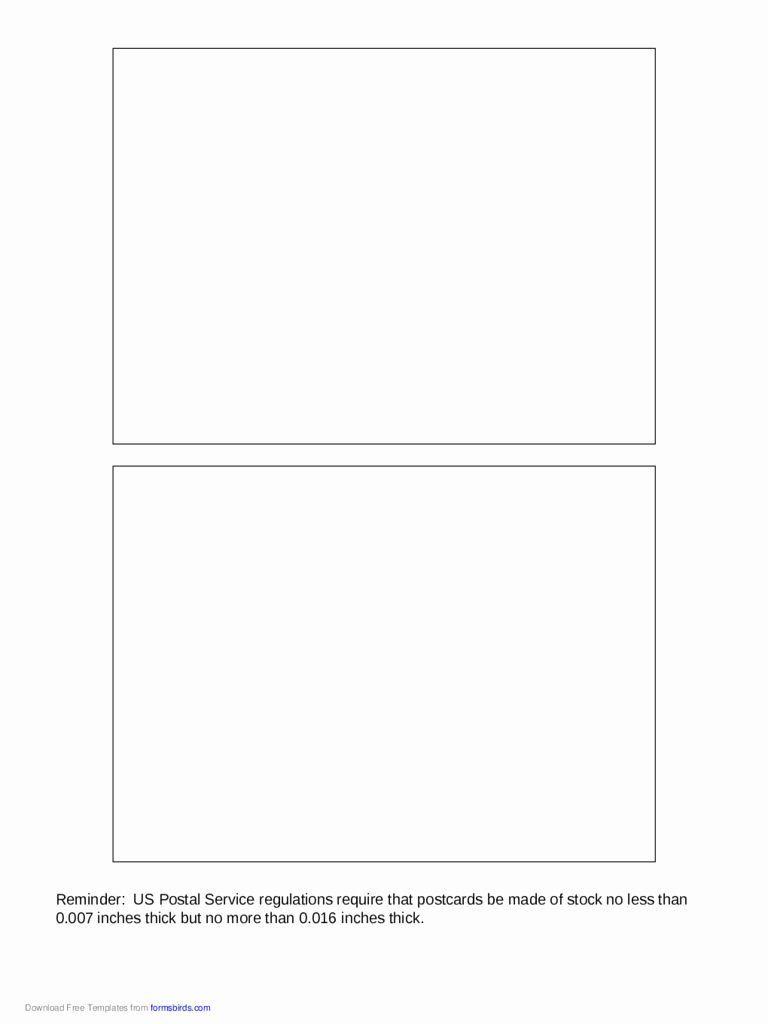 003 Fantastic 5 X 7 Postcard Template Microsoft Word Photo Full