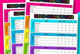 003 Fantastic Blood Glucose Log Form Design  Sheet Excel Level Free Printable Monthly