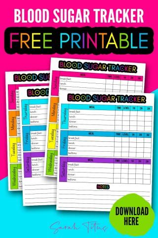003 Fantastic Blood Glucose Log Form Design  Sheet In Spanish Level Free Printable320