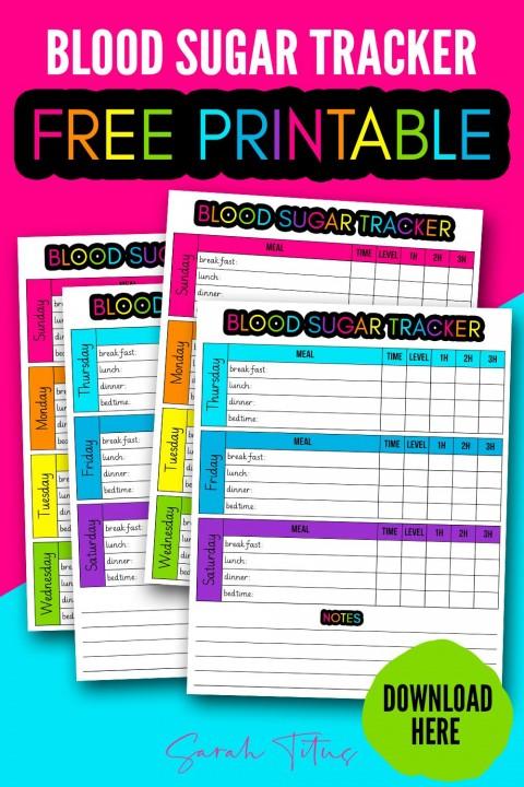 003 Fantastic Blood Glucose Log Form Design  Sheet In Spanish Level Free Printable480