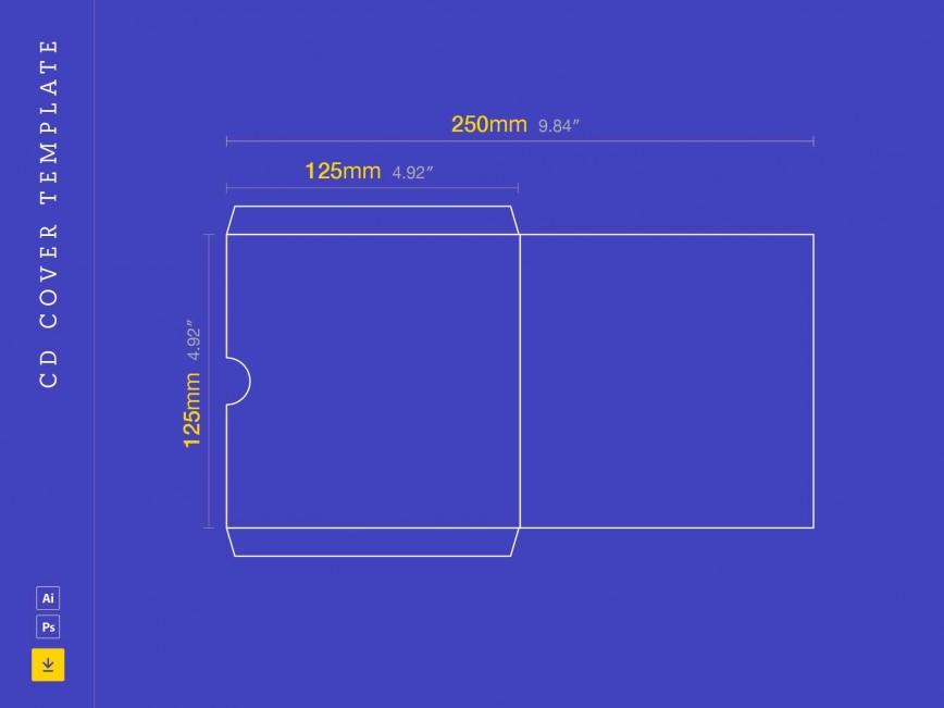 003 Fantastic Cd Cover Design Template Photoshop Sample  Label Psd Free868