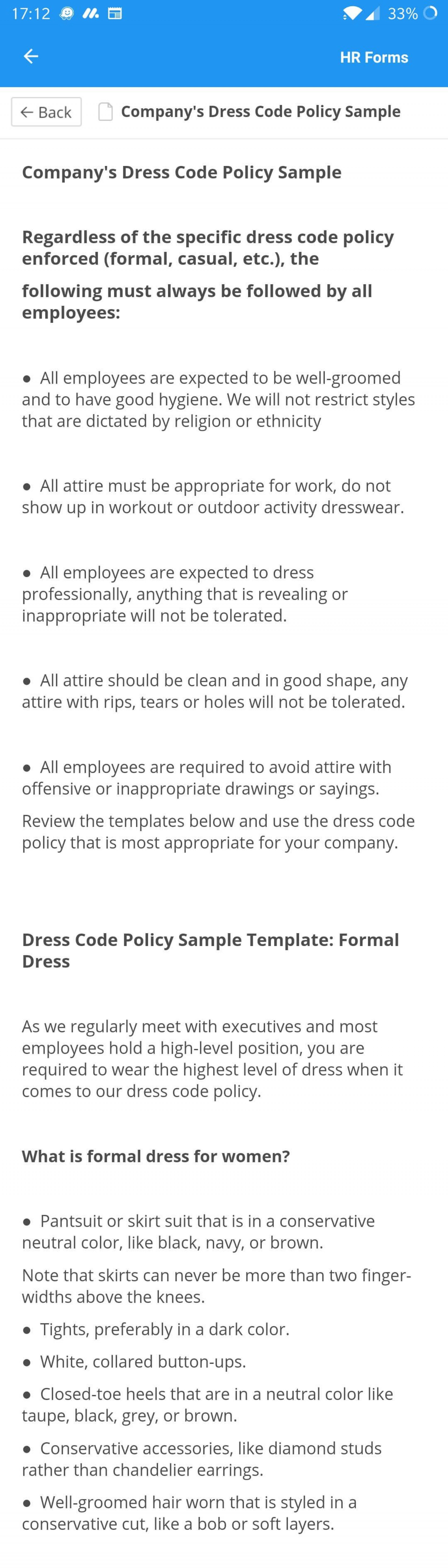 003 Fantastic Dres Code Policy Template Idea  Work Uk Sample Casual Memo1920