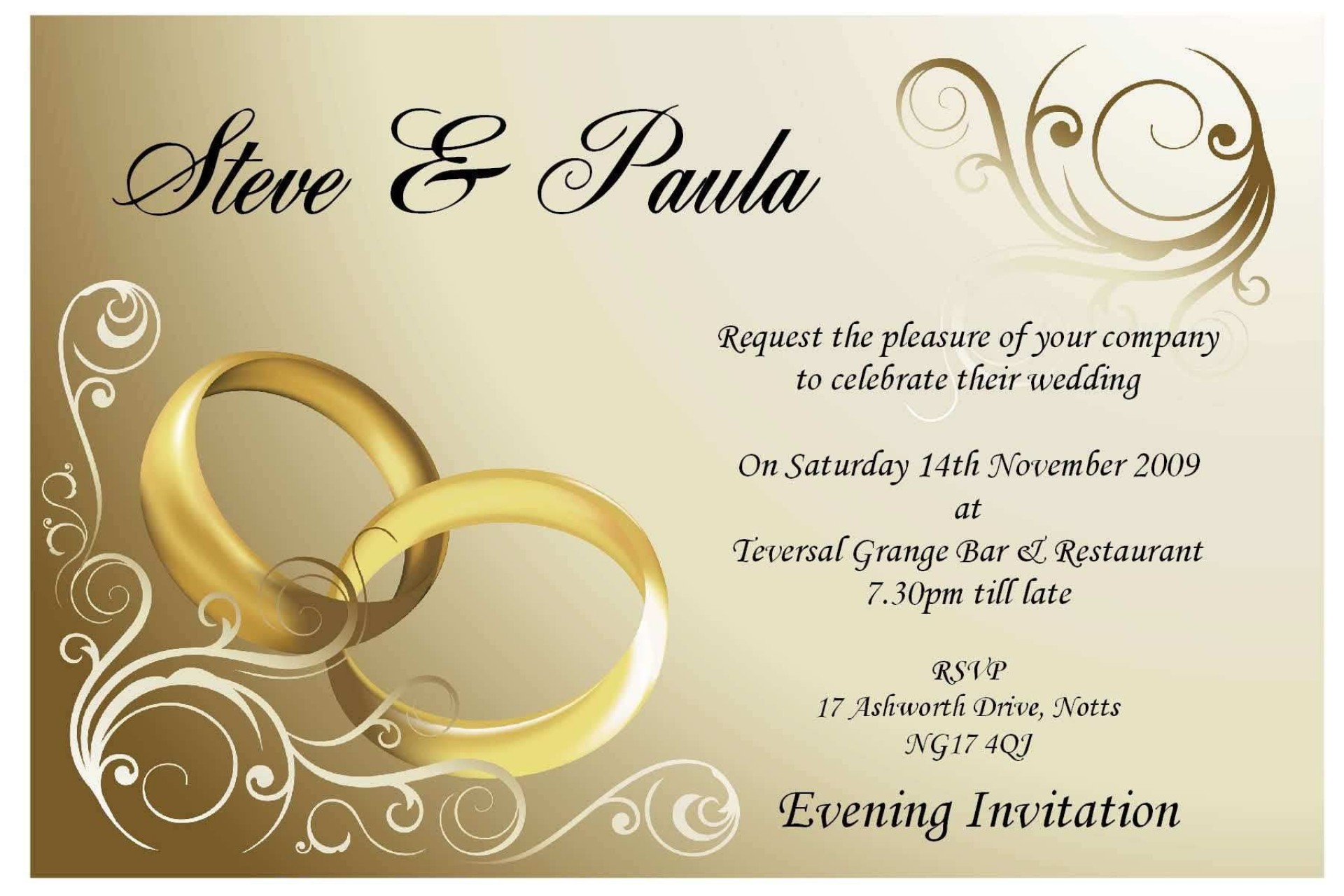 003 Fantastic Free Online Indian Wedding Invitation Card Template Highest Clarity  Templates1920