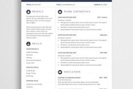 003 Fantastic Resume Template Word Free Sample  Download 2020 Doc