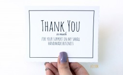 003 Fantastic Thank You Note Template Pdf High Resolution  Card Free Letter Example For Student
