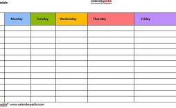 003 Fantastic Weekly Workout Schedule Template Inspiration  12 Week Plan Training Calendar