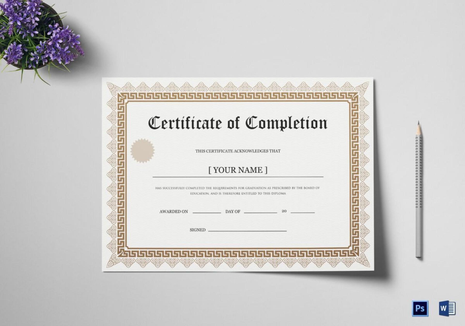 003 Fascinating Degree Certificate Template Word High Def 1920