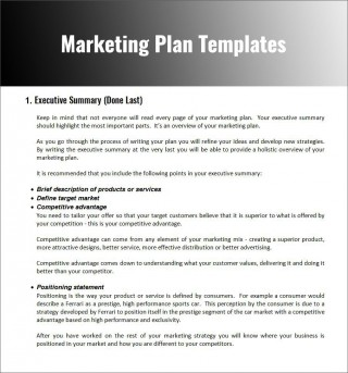 003 Fascinating Free Marketing Plan Template Word Photo  Digital Download320