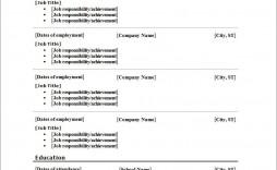 003 Fascinating Free Printable Resume Template Pdf Image