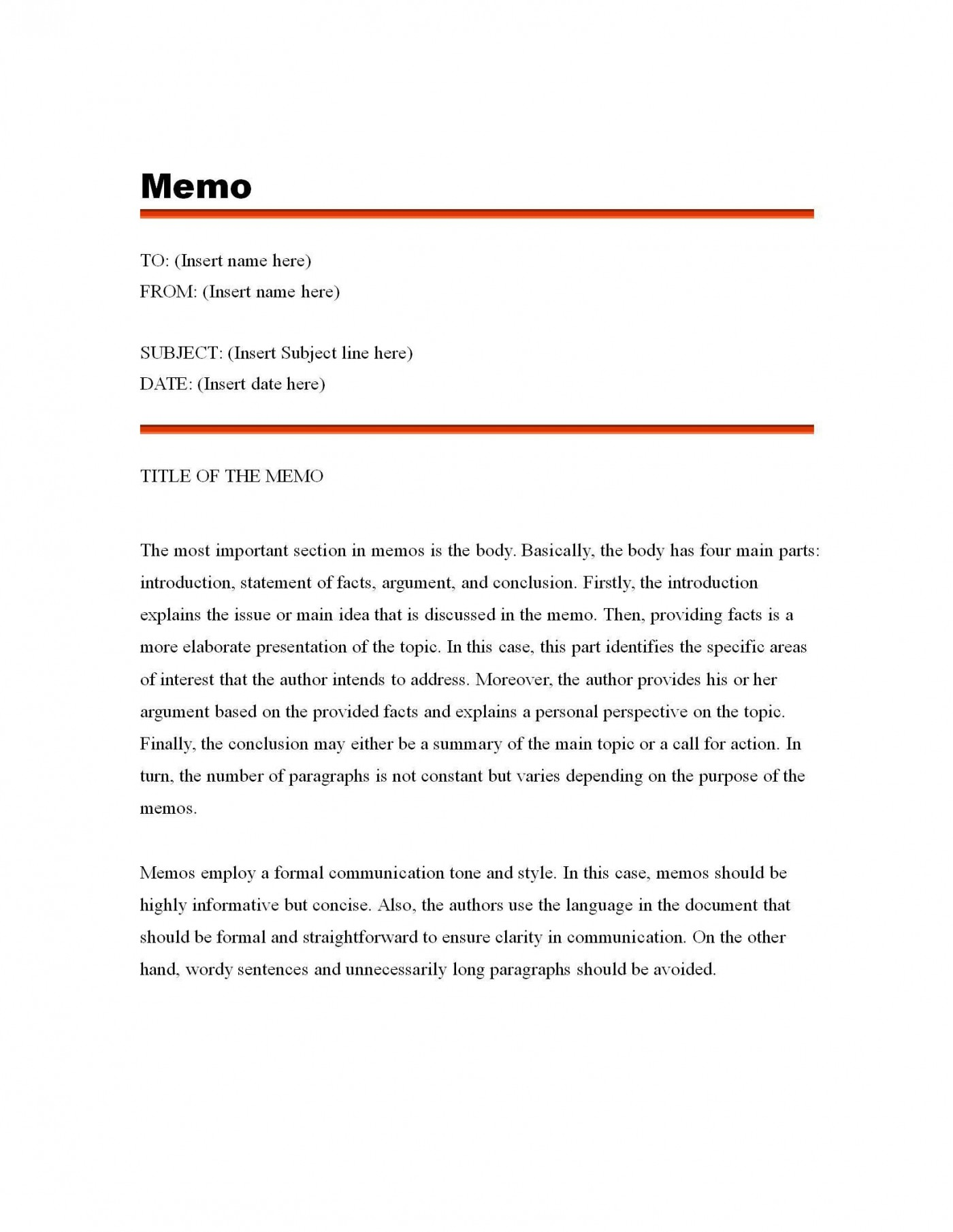 003 Fascinating Microsoft Word Memo Template Free Highest Quality  Download1400