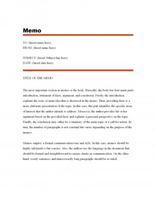 003 Fascinating Microsoft Word Memo Template Free Highest Quality  Download320