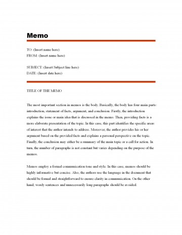 003 Fascinating Microsoft Word Memo Template Free Highest Quality  Download360