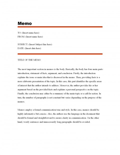 003 Fascinating Microsoft Word Memo Template Free Highest Quality  Download480