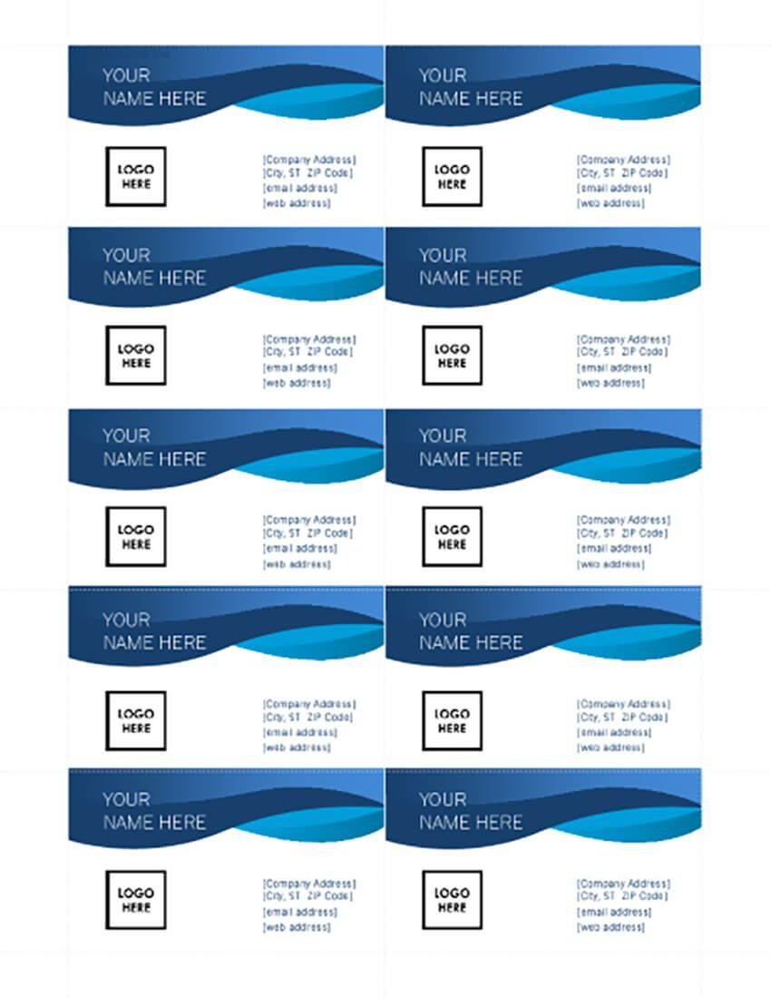 003 Fascinating Simple Busines Card Template Microsoft Word Sample Full