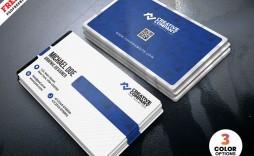 003 Fascinating Simple Visiting Card Design  Busines Idea Psd File Free Download