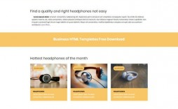 003 Fascinating Simple Web Page Template Free Download Concept  One Website Html With Cs