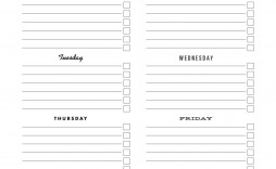 003 Fascinating To Do Checklist Template Image