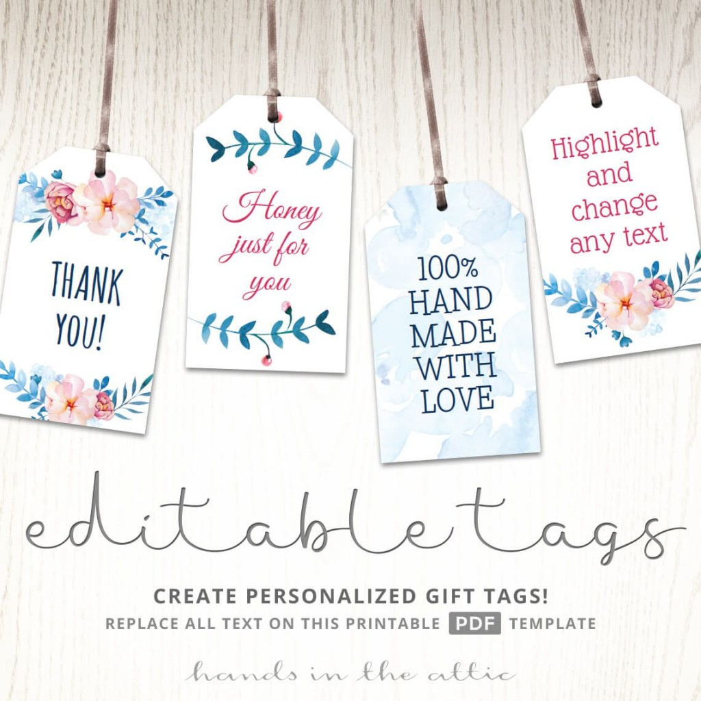 003 Fascinating Wedding Favor Tag Template Example  Templates Editable Free Party PrintableLarge
