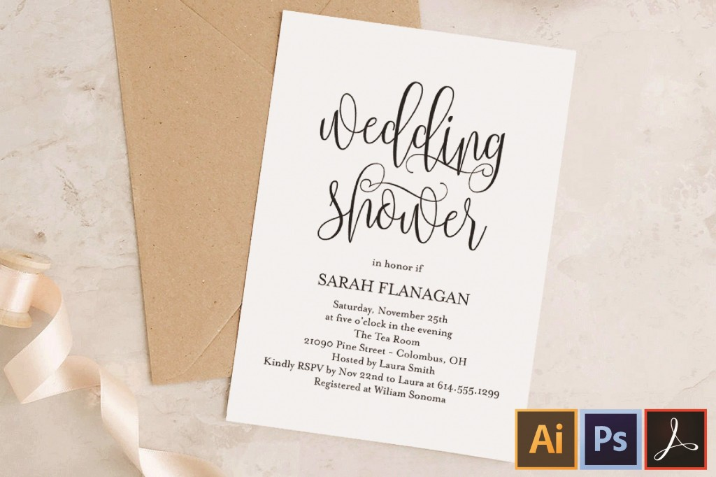003 Fascinating Wedding Shower Invitation Template Highest Clarity  Templates Bridal Pinterest Microsoft Word Free ForLarge