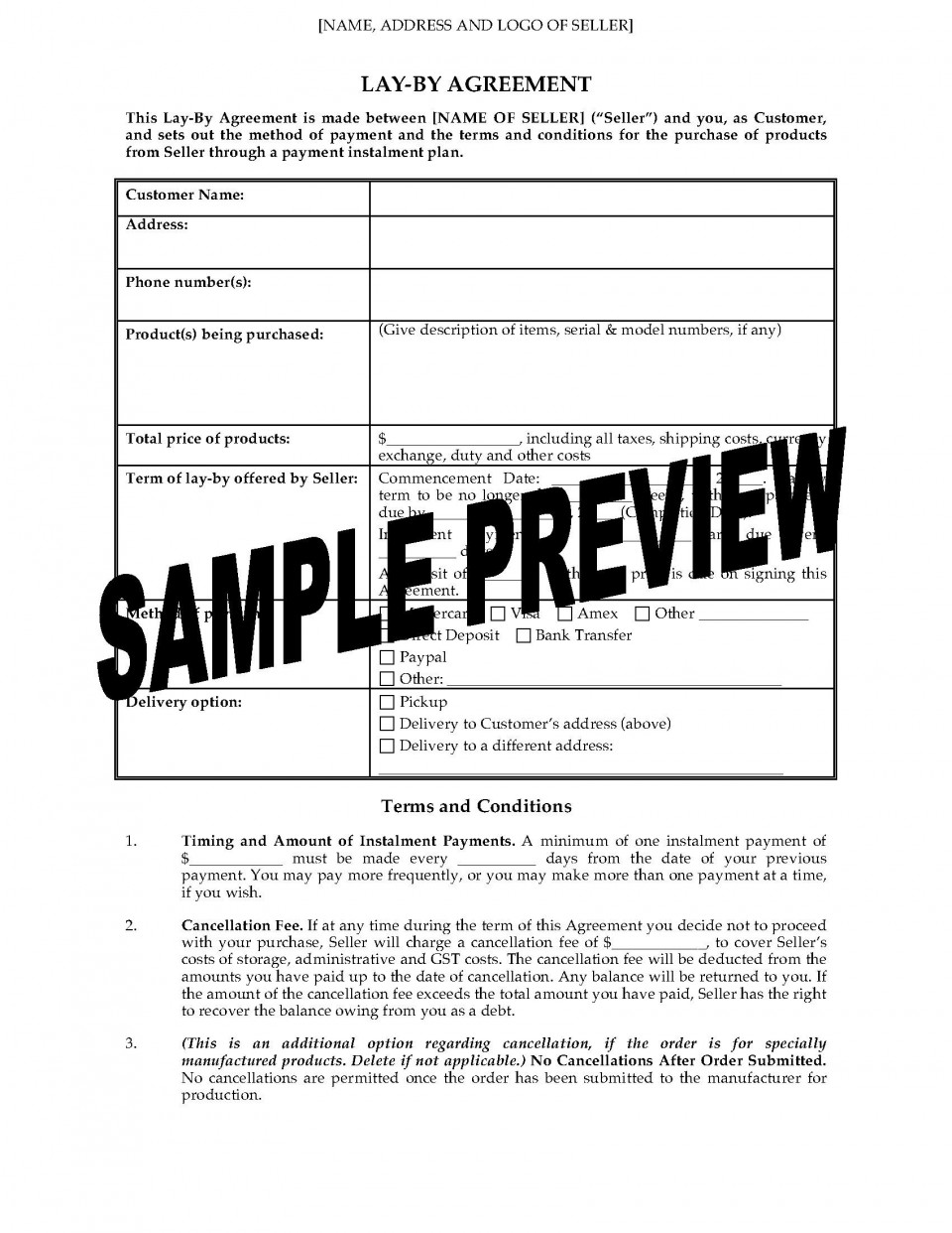 003 Fearsome Basic Employment Contract Template Free Nz Picture 960