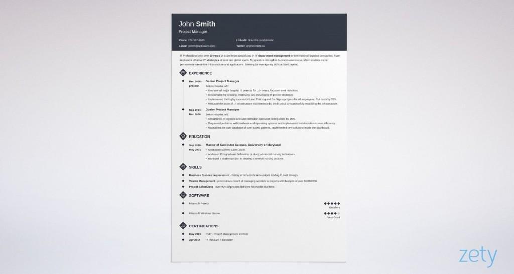 003 Fearsome Best Professional Resume Template Inspiration  Reddit 2020 DownloadLarge