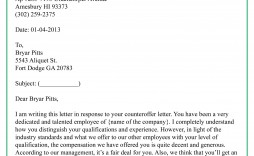 003 Fearsome Counter Offer Letter Template Idea  Real Estate Settlement Debt