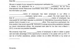 003 Fearsome Employment Verification Form Template Sample  Templates Previou Past Printable
