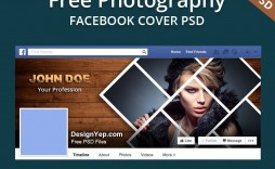 003 Fearsome Free Facebook Cover Template Concept  Templates Photoshop