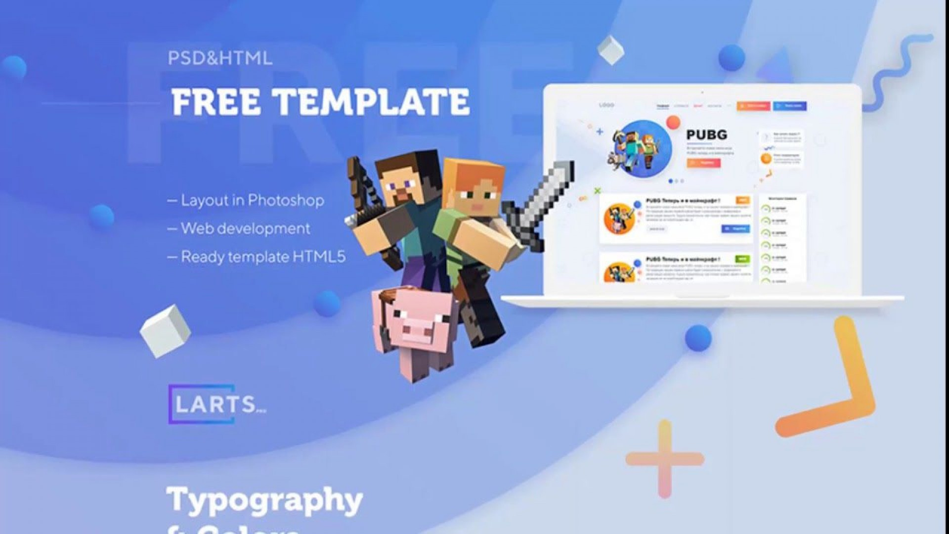 003 Fearsome Minecraft Website Template Html Free Download Image 1920