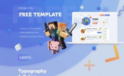 003 Fearsome Minecraft Website Template Html Free Download Image