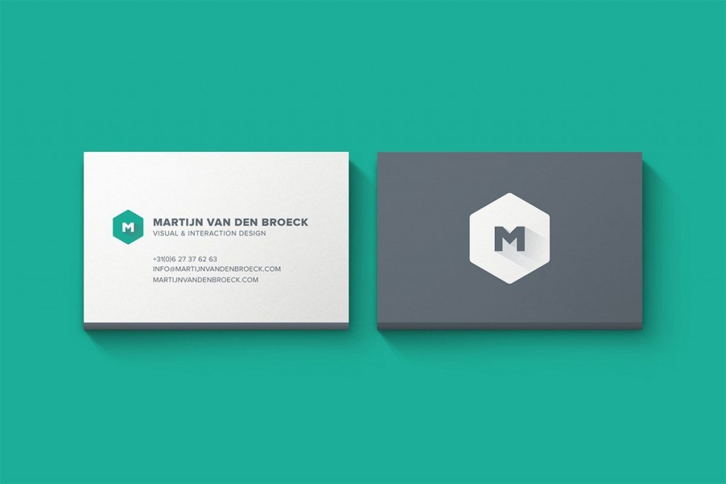 003 Fearsome Minimal Busines Card Template Free High Resolution  Easy Simple DownloadLarge