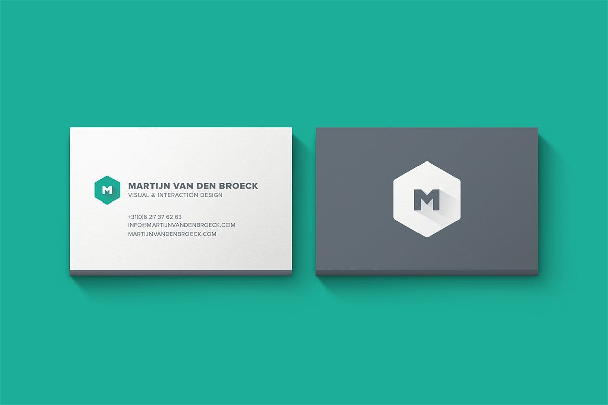 003 Fearsome Minimal Busines Card Template Free High Resolution  Easy Simple DownloadFull