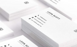 003 Fearsome Minimalist Busines Card Template Psd Free High Definition