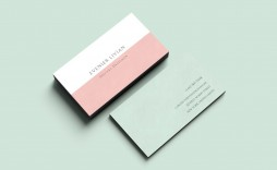 003 Fearsome Minimalist Busines Card Template Free Concept  Minimal Psd