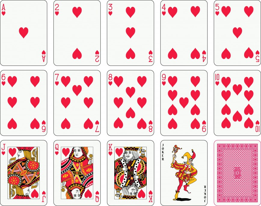 003 Fearsome Playing Card Template Free Download Highest Clarity  Blank