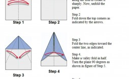 003 Fearsome Printable Simple Paper Airplane Instruction Highest Clarity  Instructions Plane