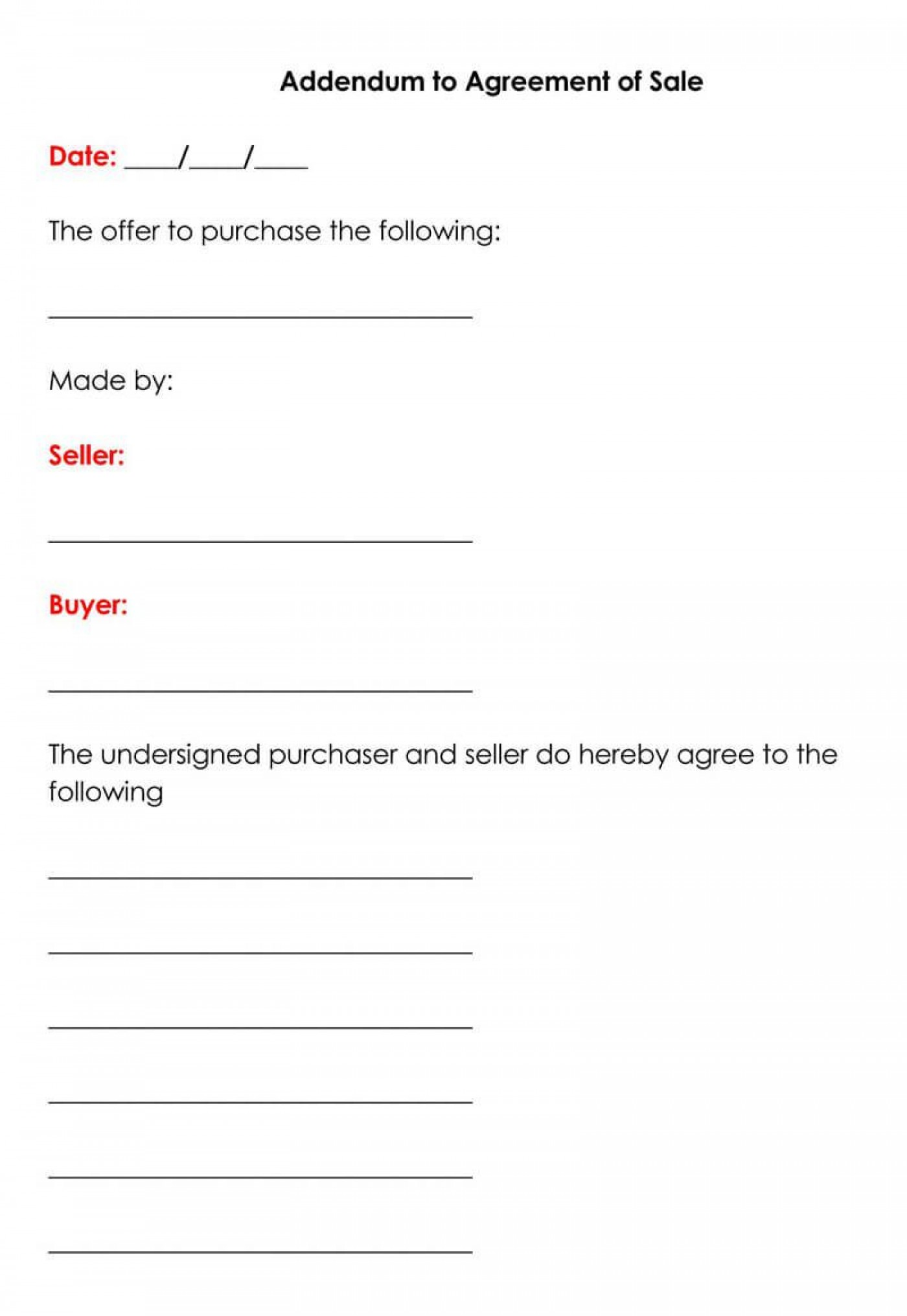 003 Fearsome Property Purchase Agreement Template Free High Resolution  Mobile Home1400