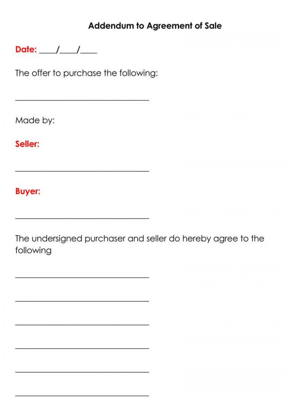 003 Fearsome Property Purchase Agreement Template Free High Resolution  Mobile Home960