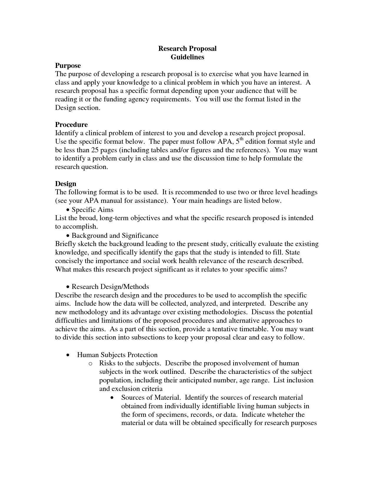 003 Fearsome Research Project Proposal Example Psychology High Def Full