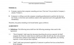 003 Fearsome Subcontractor Contract Template Free Image  Uk