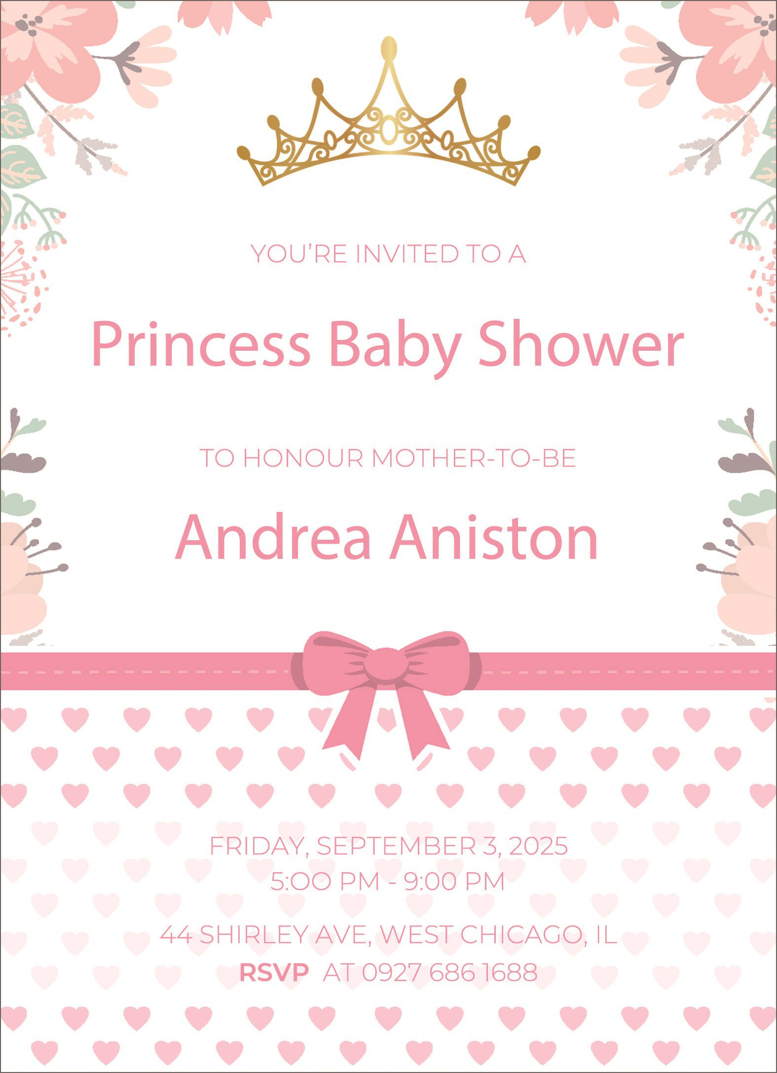 003 Formidable Baby Shower Invitation Free Template Picture  Templates Online Printable E-invitation Card Design DownloadFull