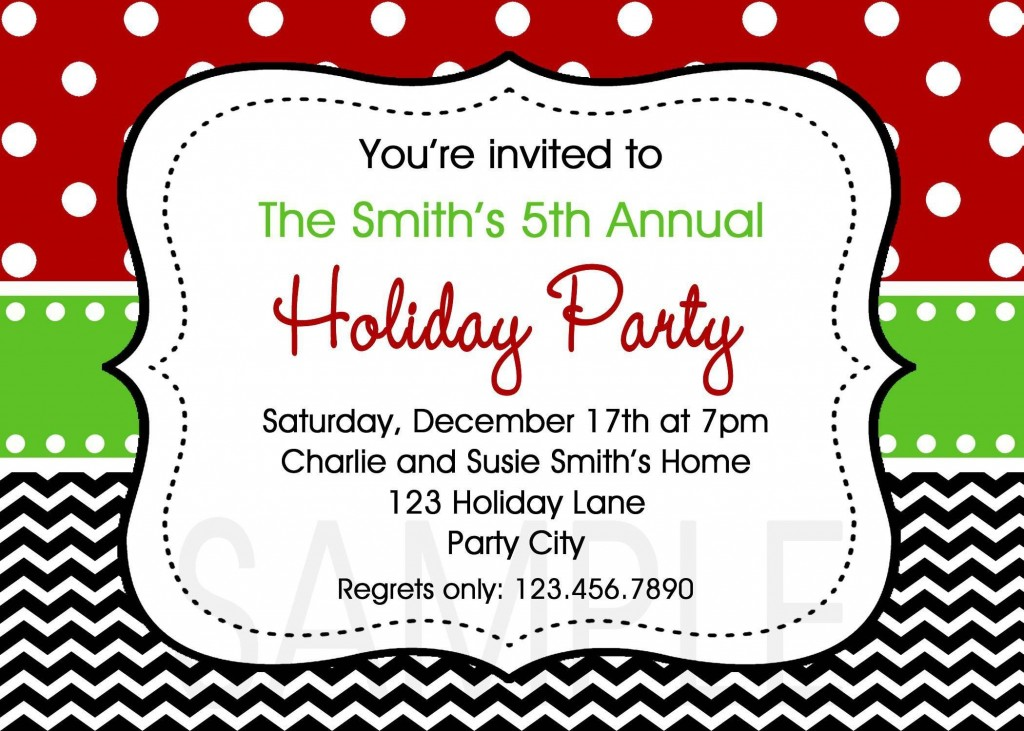 003 Formidable Christma Party Invite Template Word Photo  Holiday Free Invitation Wording ExampleLarge