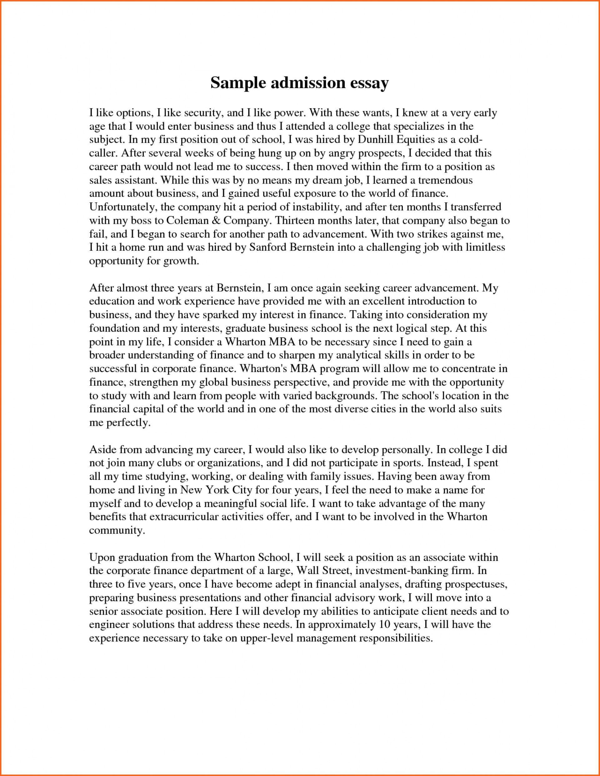 003 Formidable College Application Essay Format Example Design  Examples Sample Outline1920