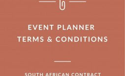 003 Formidable Event Planner Contract Template Picture  Free Download Planning