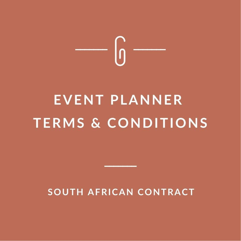 003 Formidable Event Planner Contract Template Picture  Free Download PlanningFull