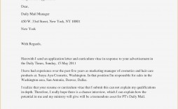 003 Formidable Excellent Covering Letter Example Inspiration  Examples