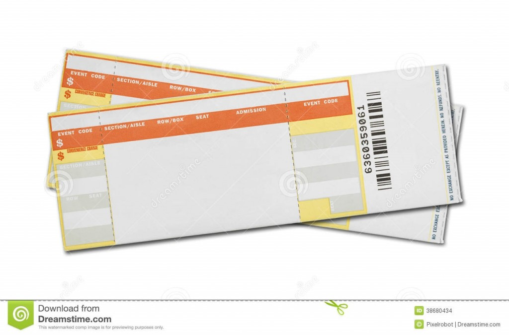 003 Formidable Free Concert Ticket Printable High Def  Template For GiftLarge
