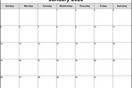 003 Formidable Free Printable Blank Monthly Calendar Template Picture