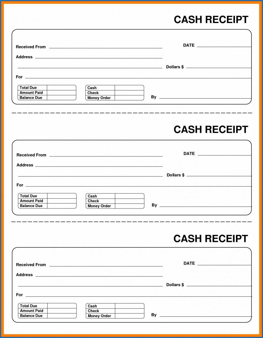 003 Formidable Free Printable Receipt Template Photo  Cash Uk Invoice